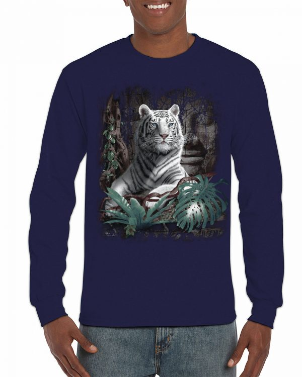White Tiger Long Sleeve T-Shirt