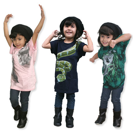 Kids Animal T-Shirts